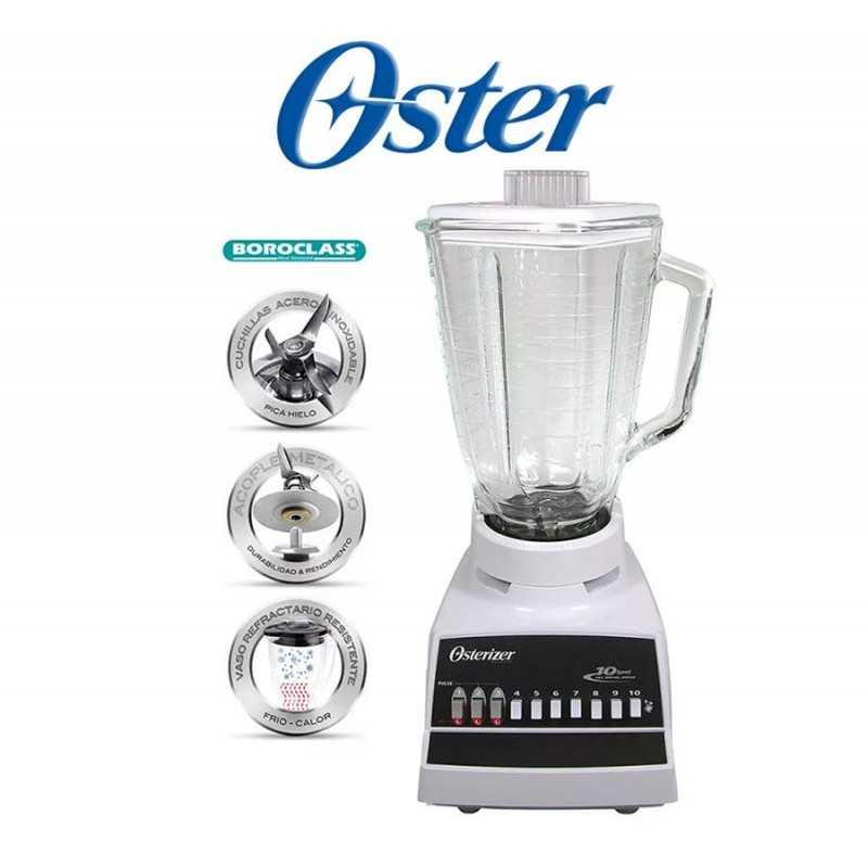 Licuadora tradicional de 10 velocidades  - Oster - 004172-051-000