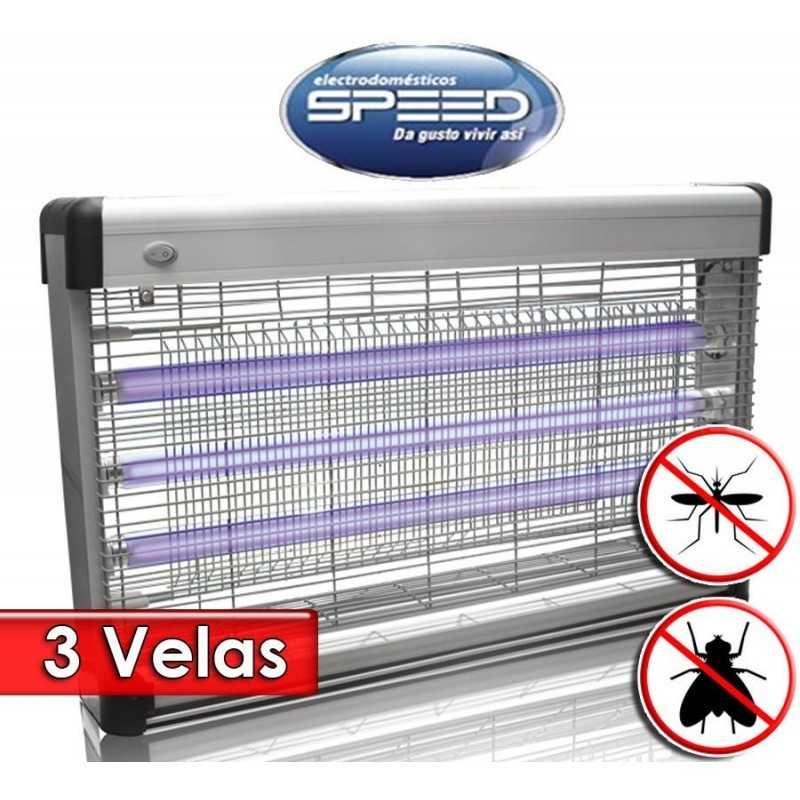 Mata Insectos Insectocutor de 3 Velas - Speed - JB40-3X20W-G