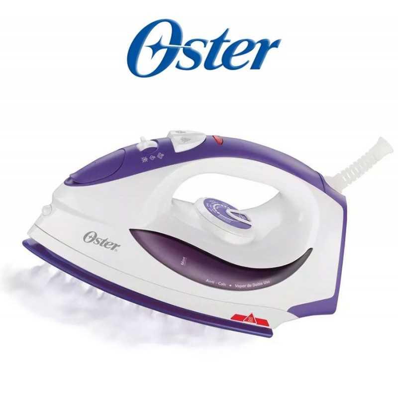 Plancha a vapor con suela de ceramica violeta y blanca - Oster - GCSTBS5856-053