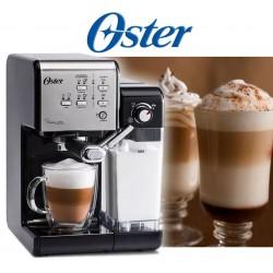 Cafetera automática PrimaLatte con 19 bares acero inoxidable con interior negro - Oster - BVSTEM6701SS