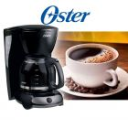 Cafetera de 12 tazas negra - Oster - BVSTDCMV13-053