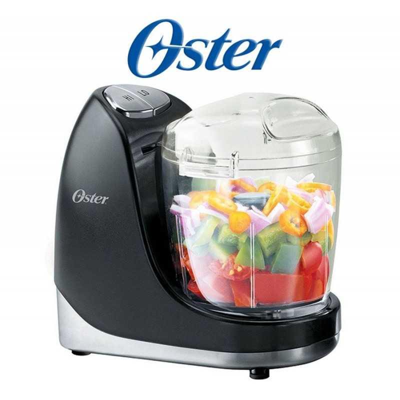 Multiprocesador de alimentos con capacidad de 0,7 Litros Negro - Oster - 003320-051-000