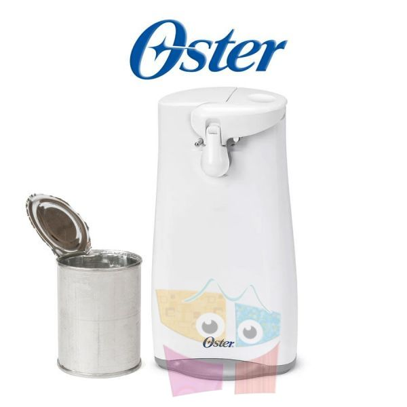 Abrelatas eléctrico con cuchilla de acero Inoxidable reforzada - Oster - 003125-051-000