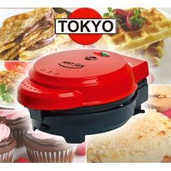 Maquina 3 en 1 Wafles, Cupcakes, Crepes, Omeletes y Mbeju Max Fun - Tokyo - EDTSMFUN T1965
