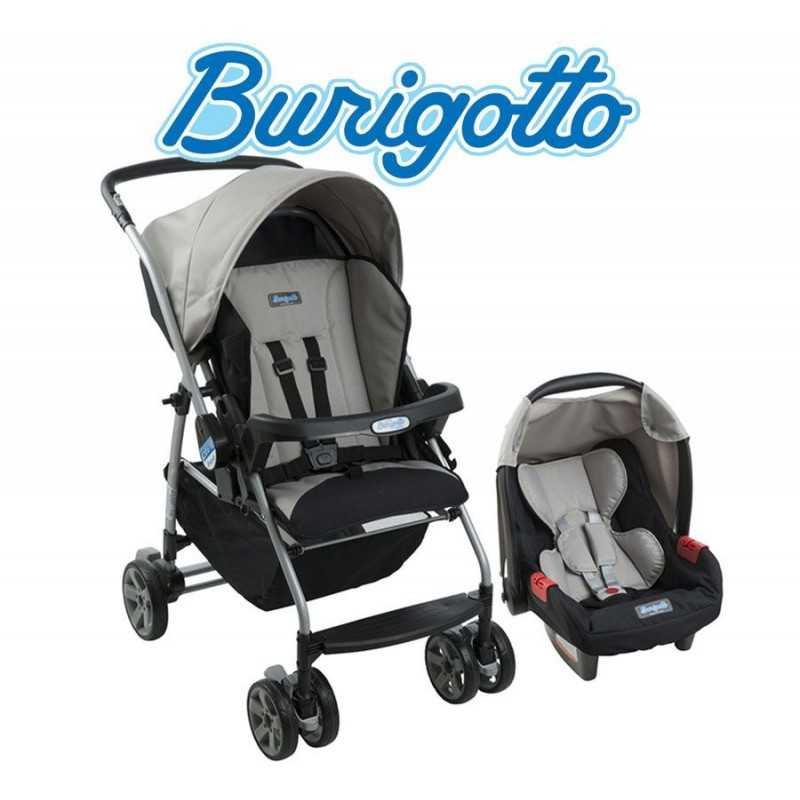 Carrito de bebé Rio K Gris + Baby Seat Touring Evolution - Burigotto - IXCJ4016PR17