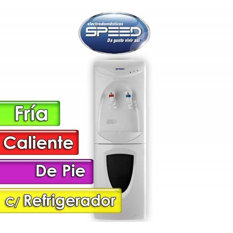 Bebedero de Pie Agua Fria y Caliente con Refrigerador - Speed - SBBFCCR