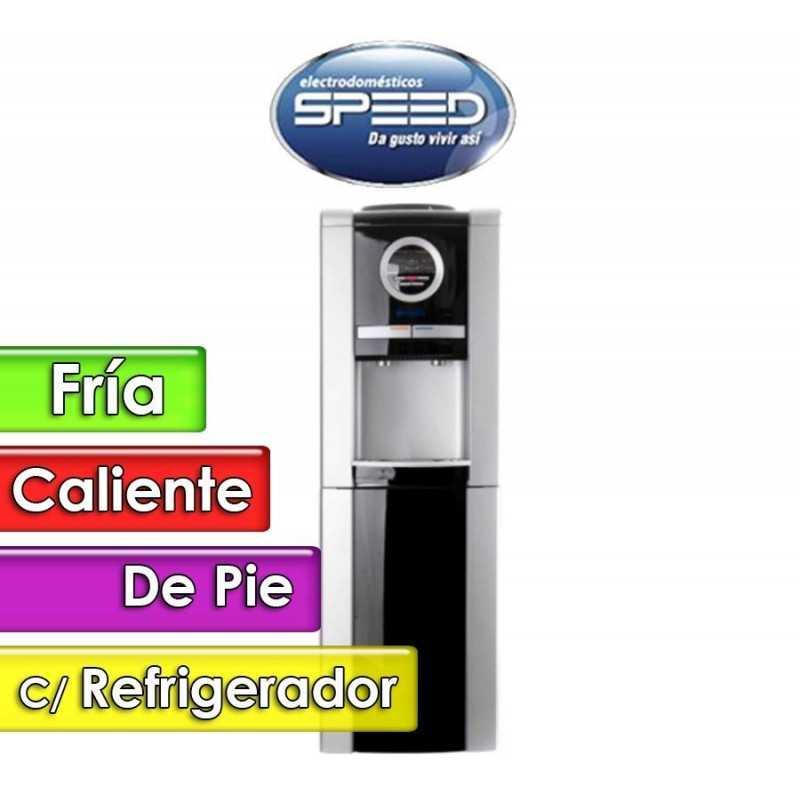 Bebedero de Pie Agua Fria y Caliente con Refrigerador - Speed - SBABDN