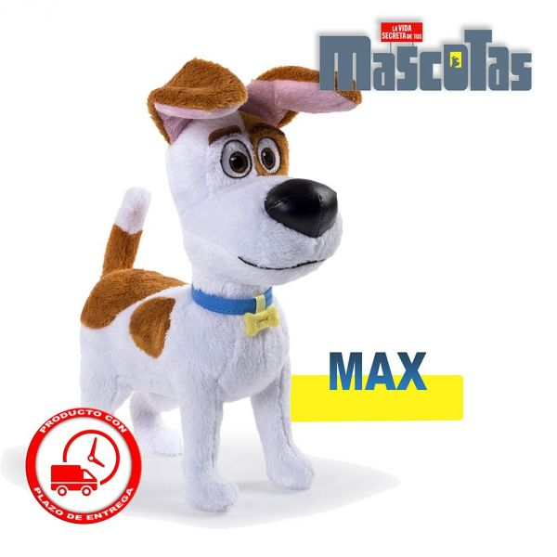 Muñeco peluche Max - La vida secreta de tus mascotas
