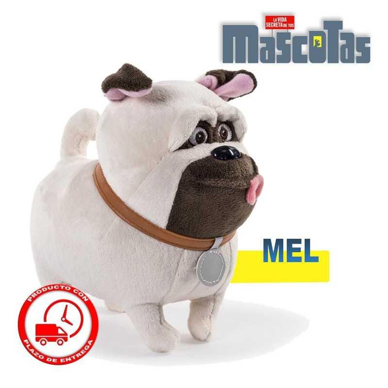 Muñeco peluche Mel - La vida secreta de tus mascotas