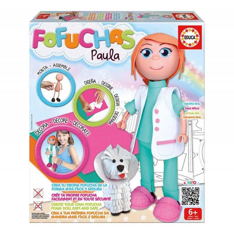 Fofucha Paula Veterinaria - Educa
