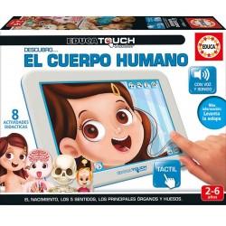Tablet Touch Junior Aprendo el Cuerpo Humano - Educa