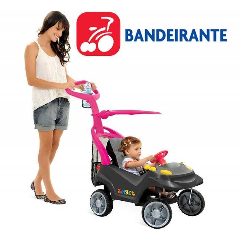 Autito Smart Baby Comfort Rosa - Bandeirante - 521