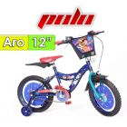 "Bici Aro 12"" diseño Toy Story - Polo - Azul"