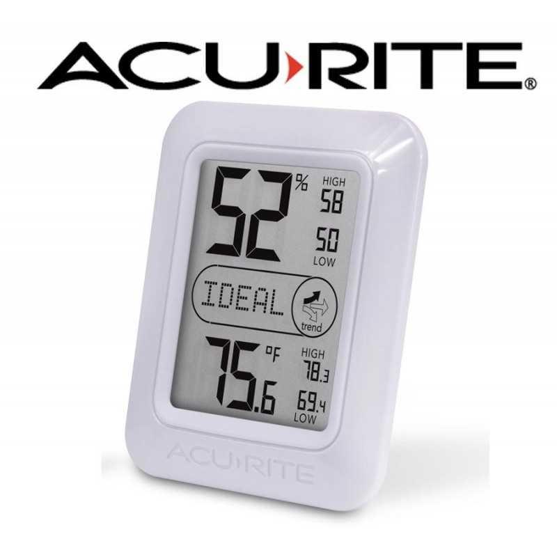 Termohigrometro - AcuRite - temperatura y humedad interior
