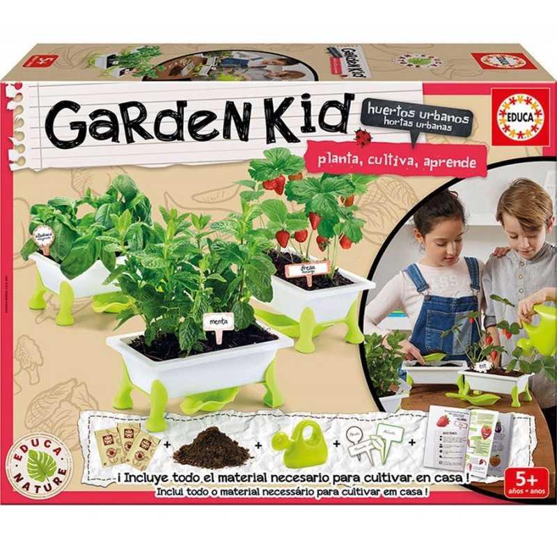 Garden Kid Fresa - Menta - Albahaca - Educa