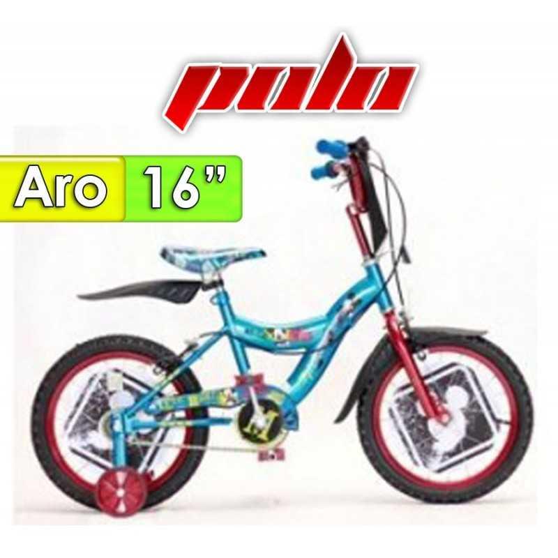 """Bici Aro 16"""" diseño Mickey - Polo"""