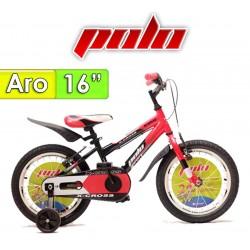 "Bici Aro 16"" X Cross - Polo - Negro"