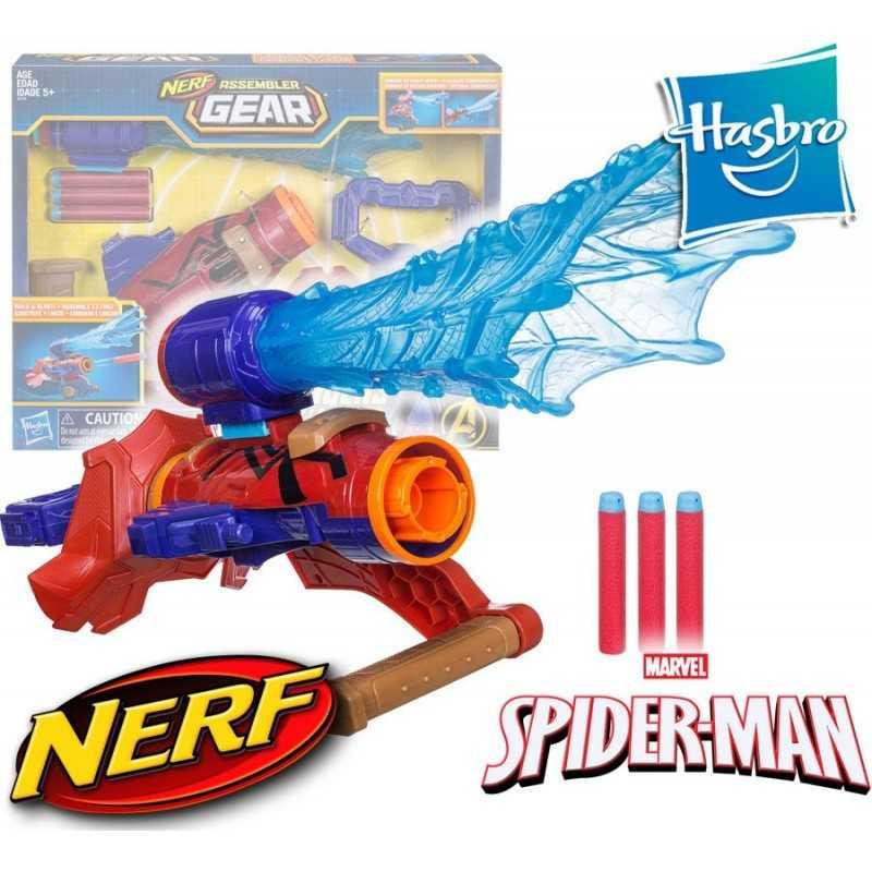 Lanzador de Dardos Iron Spder - Avengers Infinity War - Nerf Hasbro