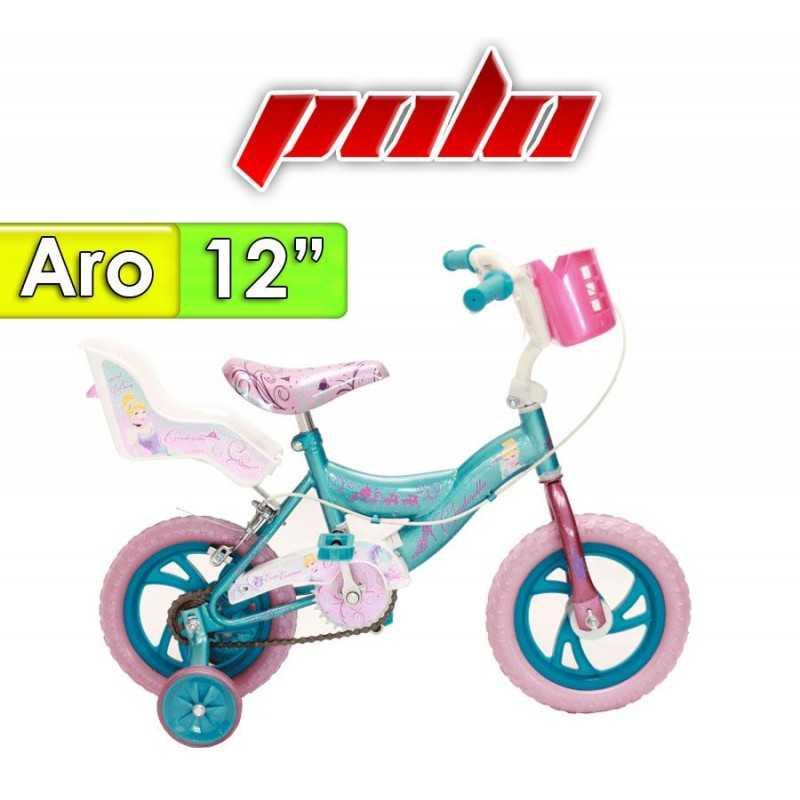 "Bici Aro 12"" diseño Cenicienta - Polo"