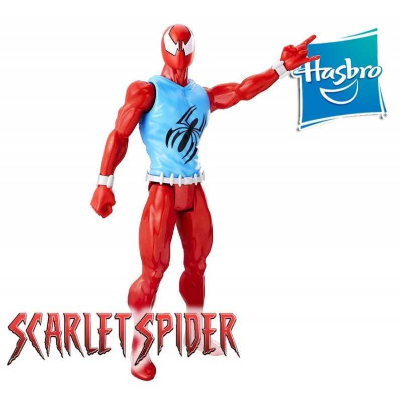 Muñeco Scarlet Spider 30 cms - Hasbro - Titan Hero Series