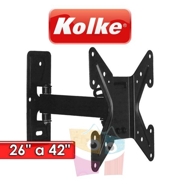 "Soporte Movil para TV de 26"" a 42"" - Kolke - KSTV-2642MC"
