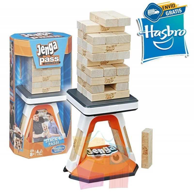 Jenga Pasa el Desafío - Hasbro