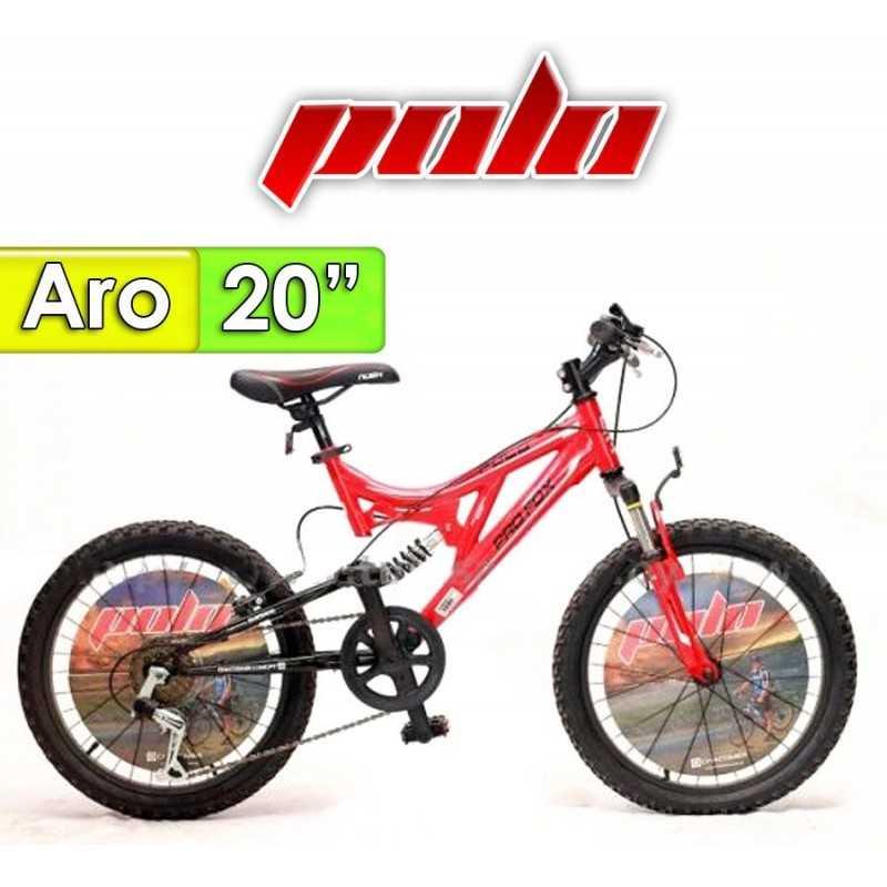 """Bici Aro 20"""" Profox - Polo - Rojo"""