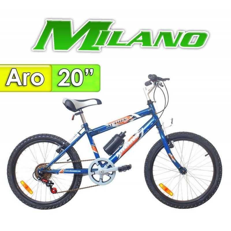 """Bici Aro 20"""" Action 20 - Milano - Azul"""