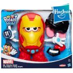 Sr. Cara de Papa Iron Man - Playskool - Hasbro