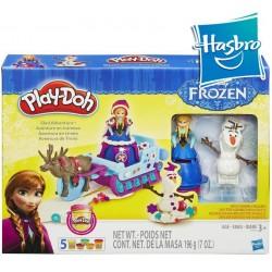 Aventura en Trineo de Frozen - Play-Doh - Hasbro