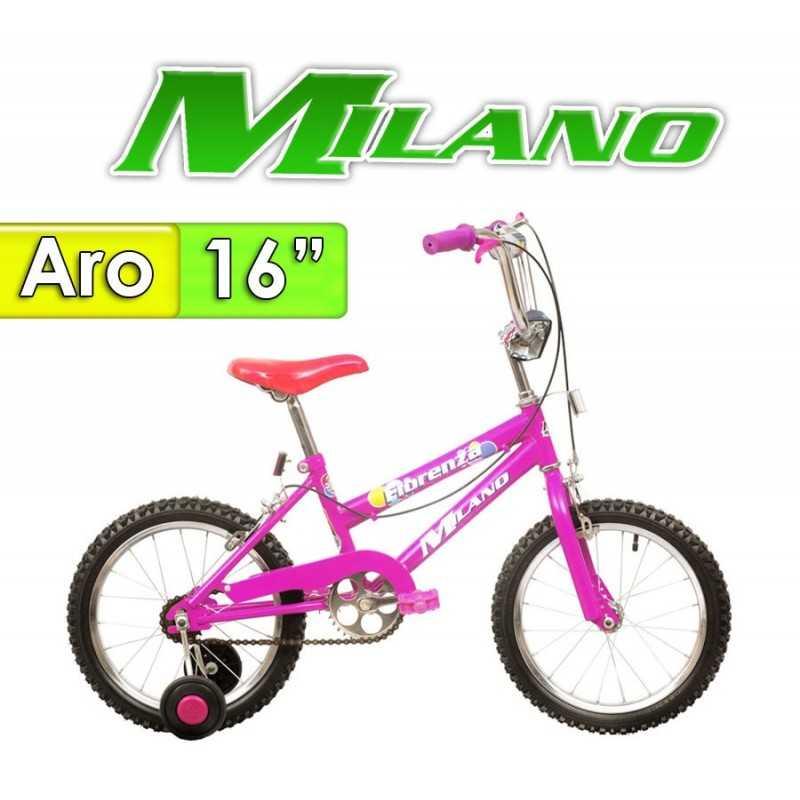 """Bici Aro 16"""" Fiorenza - Milano - Lila"""