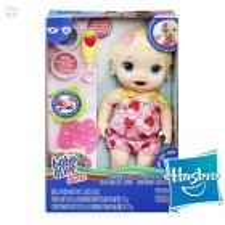 Baby Alive Lily Hora de Comer - Hasbro - Super Snacks Rubia