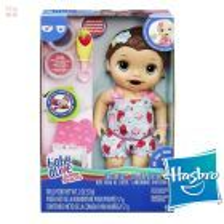 Baby Alive Lily Hora de Comer - Hasbro - Super Snacks Castaña