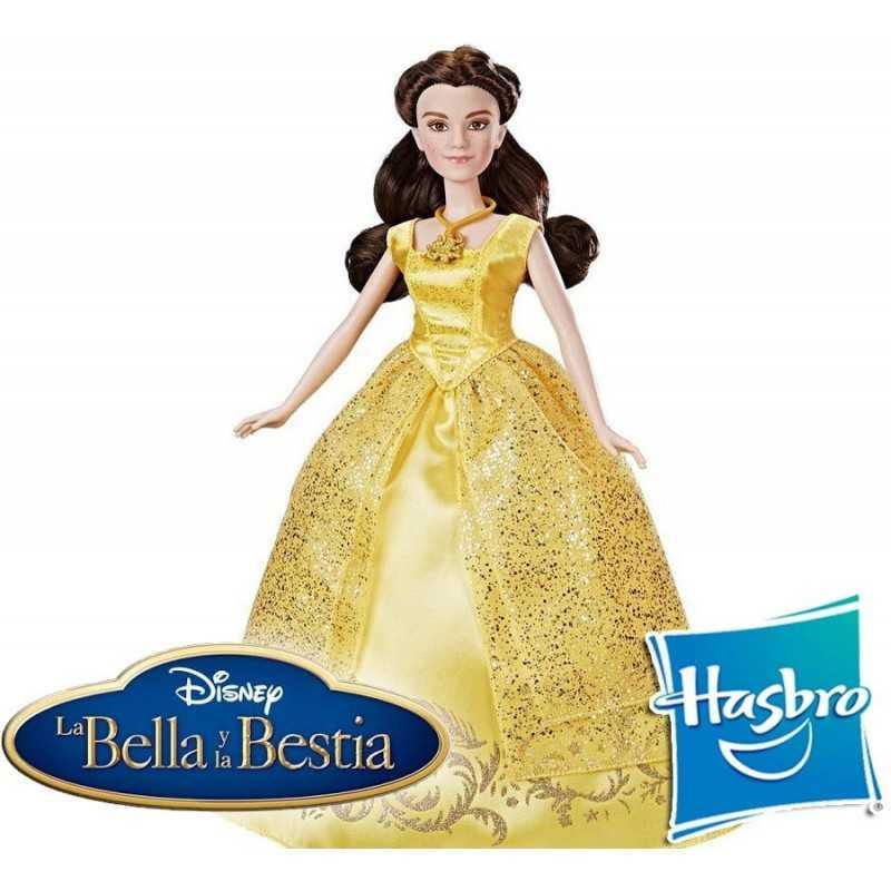 Muñeca de La Bella y La Bestia Melodías Encantadas de Disney - Hasbro
