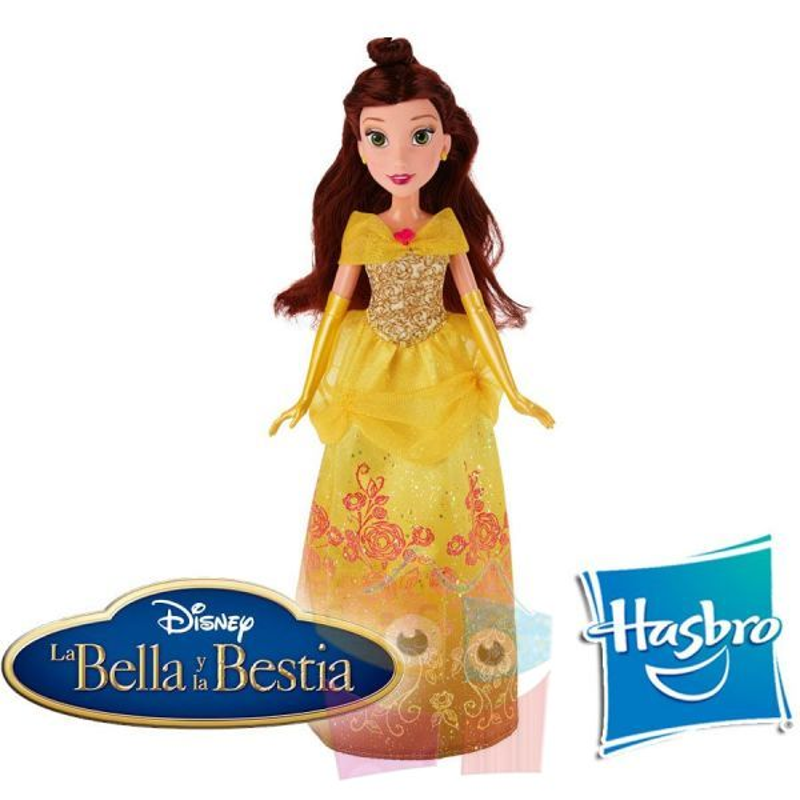 Muñeca de La Bella y La Bestia Royal Shimer de Disney - Hasbro
