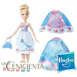 Muñeca Estilo Cenicienta Disney Princess - Hasbro