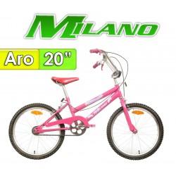 "Bici Aro 20"" Fiorenza 20 - Milano - Rosada"