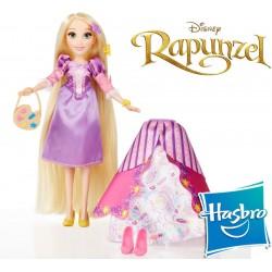 Muñeca Estilo Rapunzel Disney Princess - Hasbro