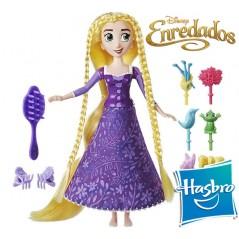 Muñeca Rapunzel Peinados Enredados Disney - Hasbro