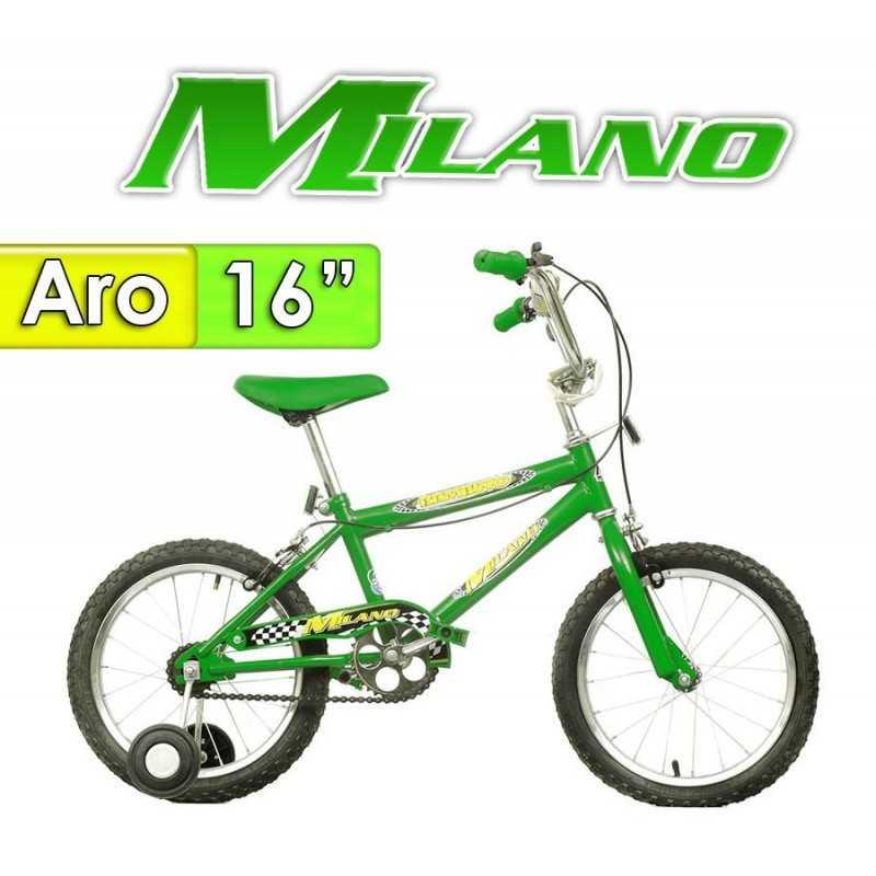 "Bici Aro 16"" Bambino 16 - Milano - Verde"