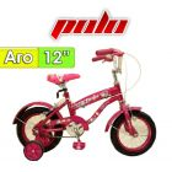 "Bici Aro 12"" Spring - Polo - Fucsia"