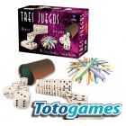 Tres Juegos, Domino, Generala, Palitos Chinos - Toto Games
