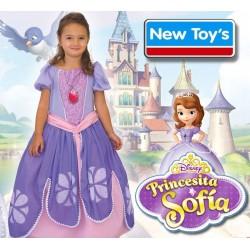 Disfraz Princesita Sofia con Luz - New Toys