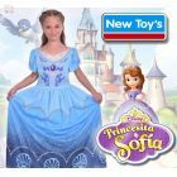 Disfraz Princesita Sofia Turquesa  - New Toys