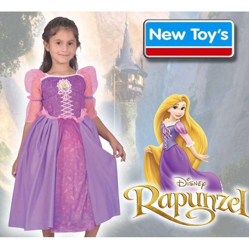 Disfraz Rapunzel con Luz - New Toys