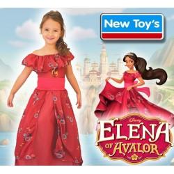 Disfraz Elena de Avalor Coronación con Luz - New Toys