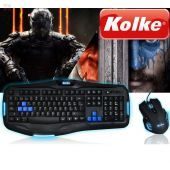 Kit Mouse y Teclado Gamer - Kolke - Power Advanced KTMIG-530