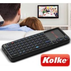 Mini Teclado Inalambrico Retroiluminado para Smart TV - Kolke - KET-1108