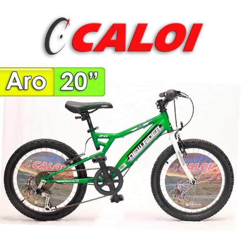 "Bici Aro 20"" New Rider - Caloi - Verde"