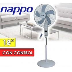 Ventilador de Pie con Control Remoto - Nappo - NV-1869